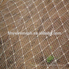 slope protection netting rockfall barrier mesh wire rope netting