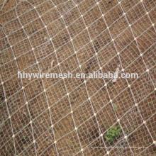 защиты наклона сетки камнепад барьер сетки веревочки провода сетки