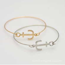 Braceletes para mulheres moda jóias âncora bracelete bracelete de punho