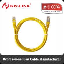 CAT6 Cable de conexión ETHERNET Cable de datos UTP Cable de cobre CCA