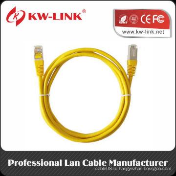 Качество AMP RJ45 FTP Cat6 Патч-кабель
