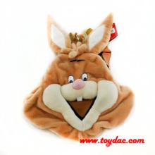 Plush Rabbit Backpack