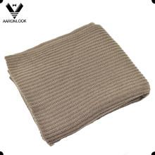 Adulto Plain Acrílico Colete Rib Knit