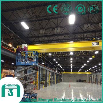 2016 Qd Model Overhead Crane with Hook Capacity 5 Ton