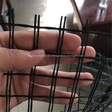 Geomalla de fibra de vidrio para cama de carretera de resistencia