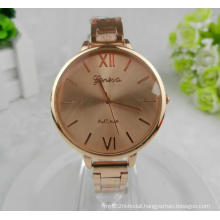 Yxl-412 Fashion Women Watch Wrist Rose Gold Case Thin Band Luxury Hot Sell Japan Movt Alloy Ladies Wrist Watches