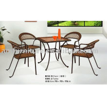 Bestselling modern synthetic rattan outdoor furniture