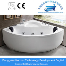 China for Acrylic Sector Bath Tub Easy-to-clean white acrylic bathtub export to Russian Federation Exporter