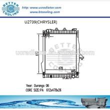 Radiateur pour CHRYSLER DURANGO 06 Fabricant Hot Sale