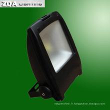 Lumière d'inondation de 10W / 20W / 30W / 50W / 80W LED pour l'éclairage extérieur
