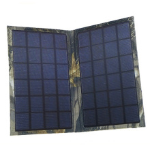 Outdoor Portable Bag Folding 6W Solar Panel Charger for iPhone 6 7 Smartphone