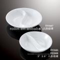 healthy durable white porcelain oven safe dip dish