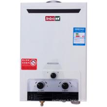 Faible pression d'eau Type de fumée Chauffe-eau à gaz instantané