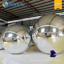 Декоративные 20-дюймовый Gold Mirror Balls Factory Оптовые Мини Disco Надувной Зеркальный Шар