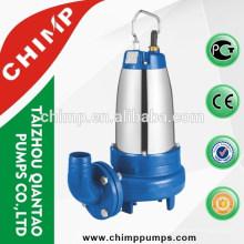 Nova bomba elétrica submersível WQDK 2HP / 3HP com cortador forte
