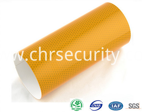 1802 yellow high reflective sheeting