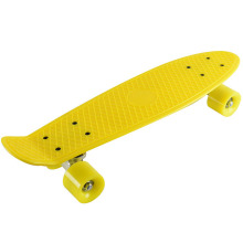 Children Yellow Penny Skateboard PP Skateboard