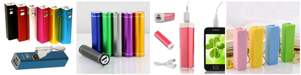 single section Lithium Battery Power Bank