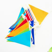 Custom Street Festival Bunting Baby Shower Bunting Flag