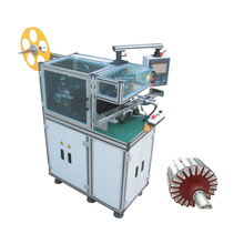 Armature slot paper inserting machine