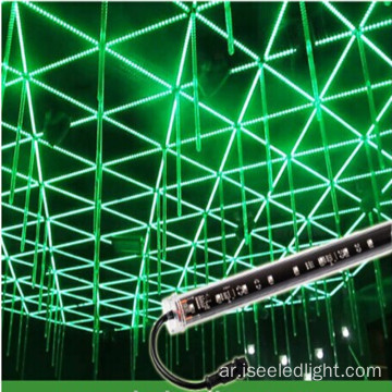 هبوط نجم 3D DMX RGB led أنبوب 16W