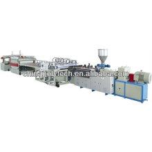 Ligne d'extrusion de panneau de mousse de construction de PVC / machine