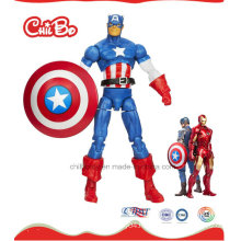 Captain America Plastic Doll