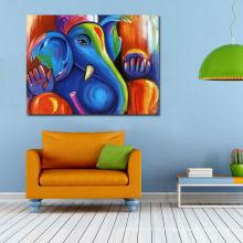 Pintura suspendida de la pared de Ganesh