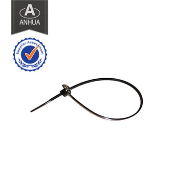 Reusable Police Plastic Handcuff with Two Keys