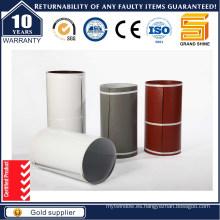 Anodizado Sliver Blanco Aluminio Industrial Perfil