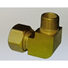Brass Compression Fitting Elbow X Mip