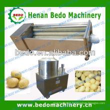 Máquina de lavar frutas e vegetais e máquina de casca de batata comercial