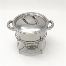 Potenciômetro quente do preço barato, bufete de aço inoxidável que aquece o preço do prato em Dubai