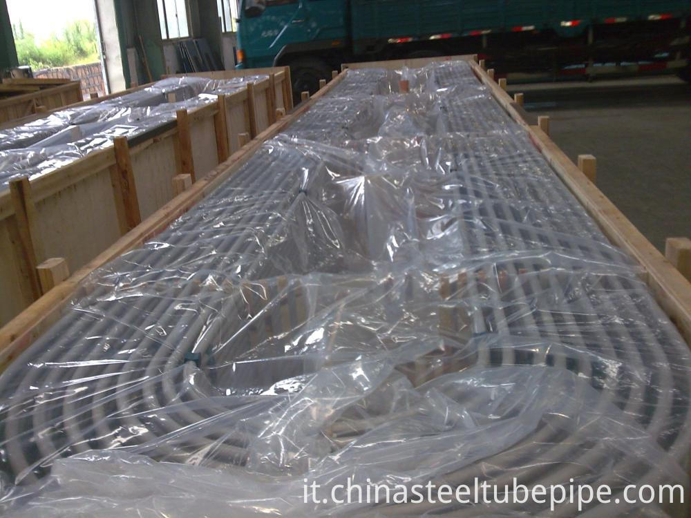 China Seamless Steel Tubes Sa213 U Tubes 714 3