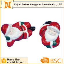 Papá Noel de cerámica para la decoración de Christams