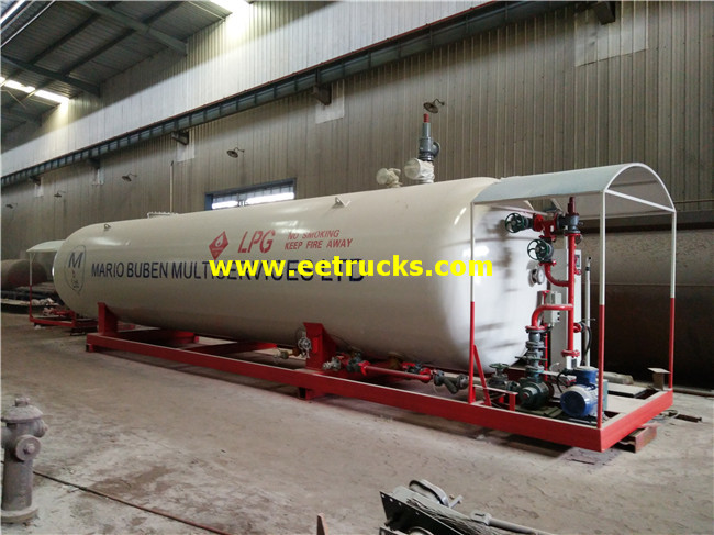 30000L Mobile LPG Filling Plants