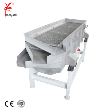 Chicken essence stainless steel linear vibrating screen machine