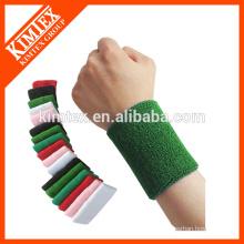 Terry cotton custom personalized wrist sweatbands