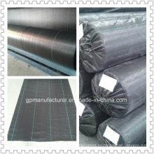 Geotextil tejido para control de malas hierbas