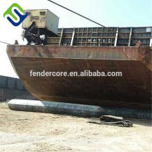 Various types Marine Salvage Airbags For Floating Ship and Ship Launching