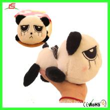 D008 Cute Plush Panda Soft Toy Stuffed Sad Panda Plushie