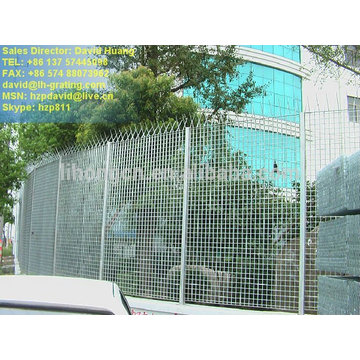 galvanized steel fence,galvanized steel grating fence,galvanized steel fence grating