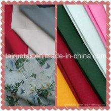 Pongé imprimé pour le tissu de vêtement et de literie