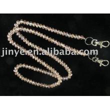cordón de cristal de moda