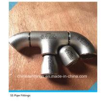 ASTM B16.11 Aço Inoxidável F304L Pipe Fittings