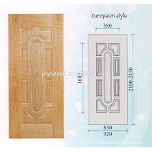 Toile de porte en bois naturel