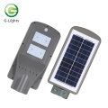 Poste de luz de calle solar de alto brillo