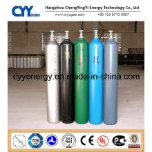 Cylindre de gaz en acier de haute pureté de bonne qualité (ASME)