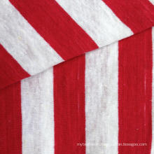 Hemp/Cotton Yarn Dyed Stripe Jersey