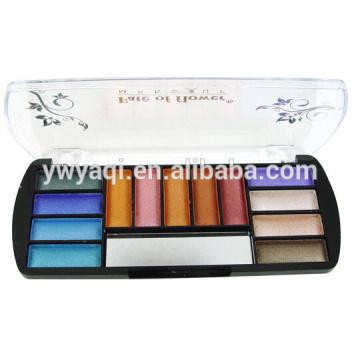 Fábrica de maquiagem de cores para as paletas 13 de maquiagem profissional do olho da sombra